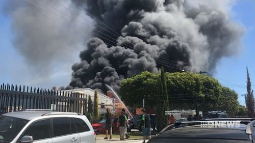 Authorities said the building is likely going to collapse. (NEWS)