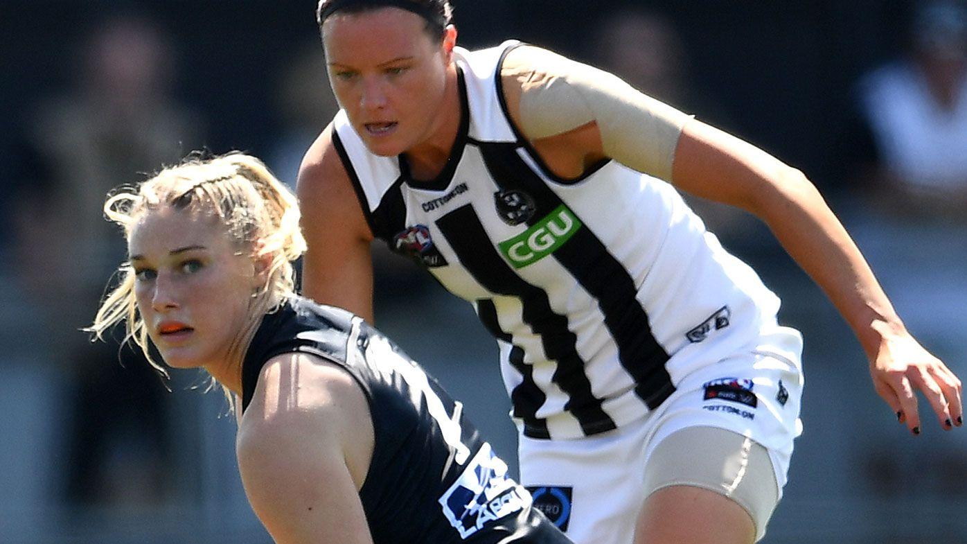 'Borderline garbage': Carlton coach slams 'useless' AFLW sledge of Tayla Harris