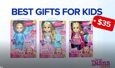 Diana doll toys Christmas