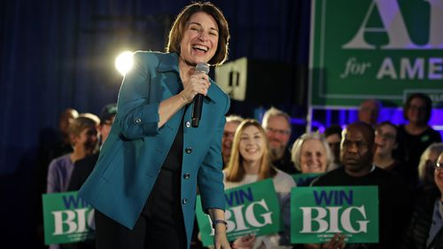 Amy Klobuchar was recently endorsed by the New York Times, alongside rival Elizabeth Warren.