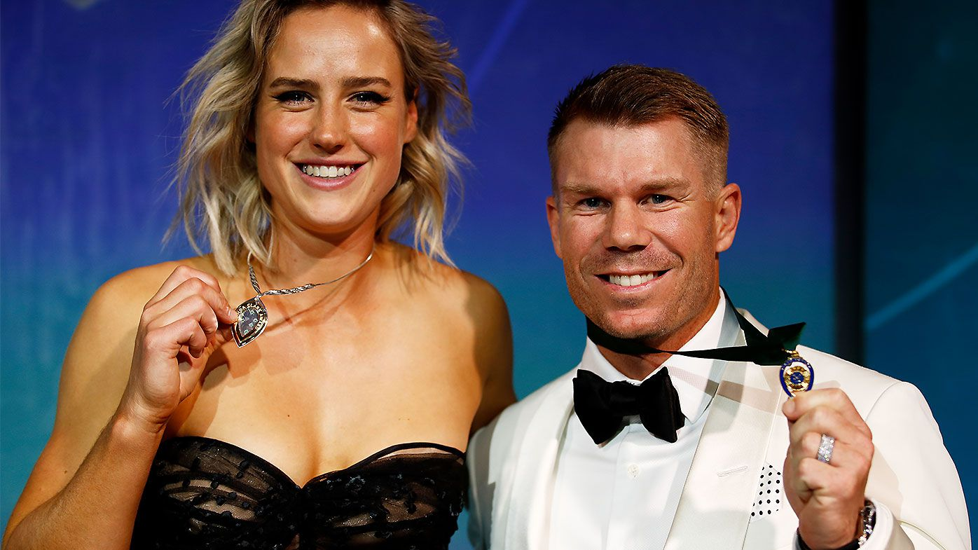 David Warner Ellyse Perry