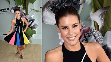 <p>The famous and the fabulous have rocked out on the red carpet at Stakes Day at Flemington Racecourse.</p><p><br />Channel Nine presenter Lauren Phillips. (AAP)</p><p><br />Click through to see more photos from the final Spring Racing Carnival event.</p>