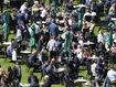 Crowds pack in at Randwick Racecourse for Everest Day