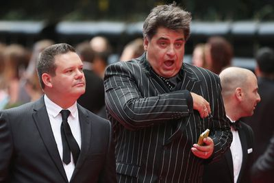 <i>MasterChef</i> judge Matt Preston mid-sneeze.<br/><br/>(Image: Getty)