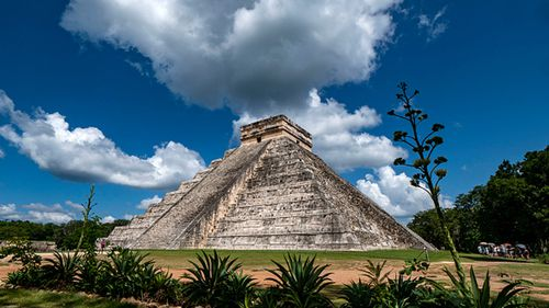 The discovery was made under the Mayan ruins of Chichen Itza in Mexico