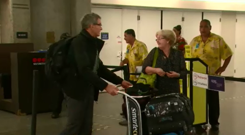 An Air Canada flight to Sydney has made an emergency landing in Hawaii after experiencing severe turbulence, injuring dozens.