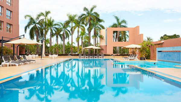DoubleTree by Hilton Hotel swimming pool (supplied)
