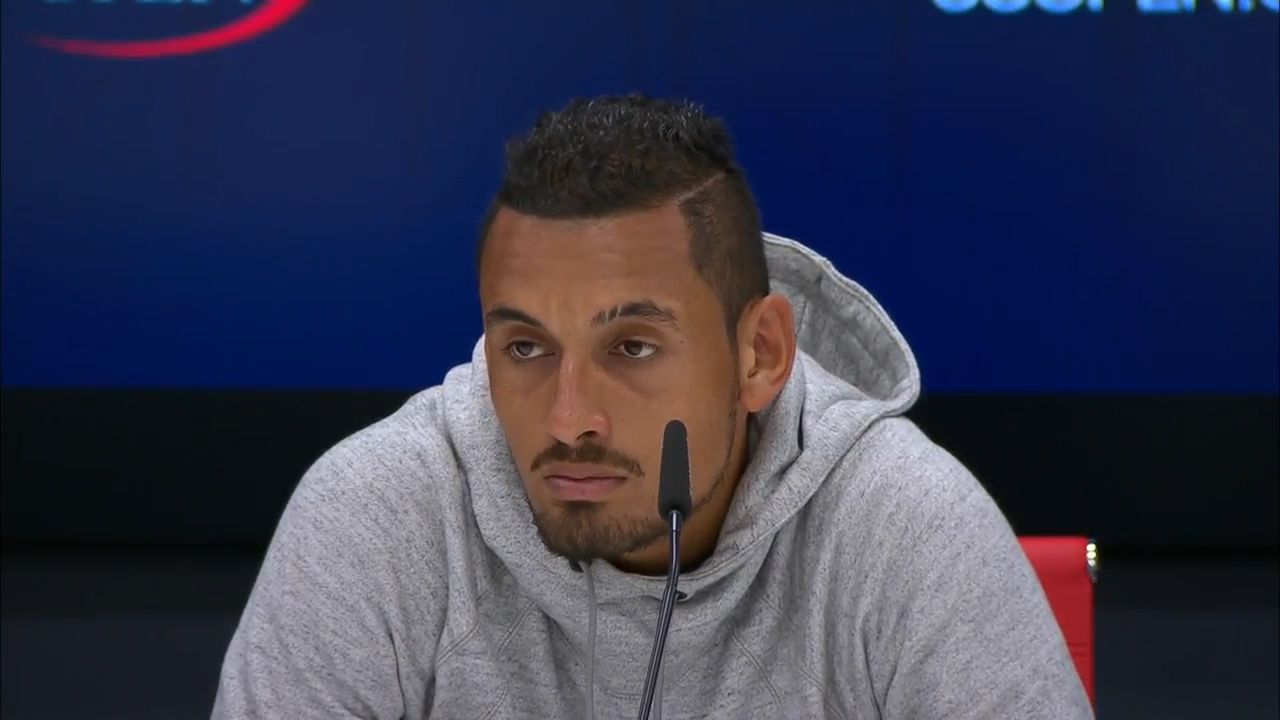 Kyrgios 'not dedicated' to tennis