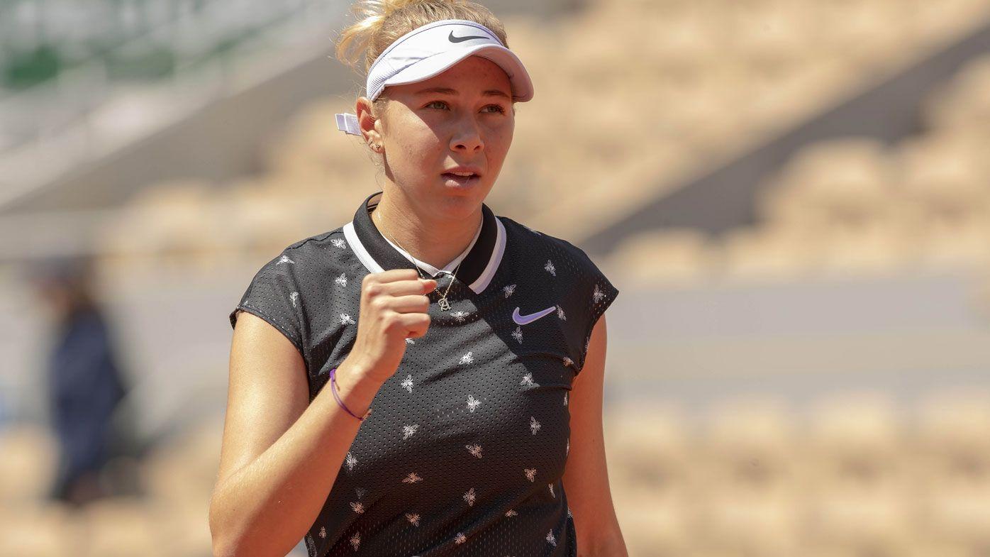 French Open 2019: Teen sensation Amanda Anisimova  ready to halt Barty's run
