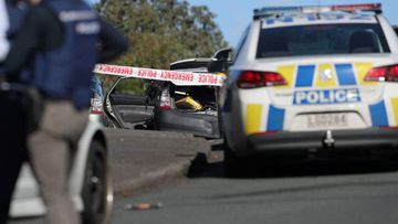 A police officer is reportedly dead after a shooting during a routine traffic stop in Auckland.