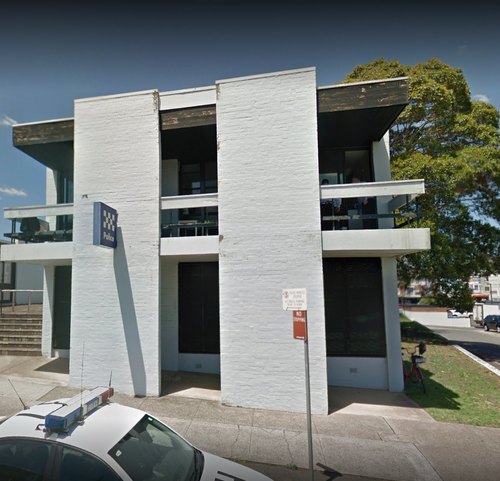 Eastwood police station by day. Picture: Supplied