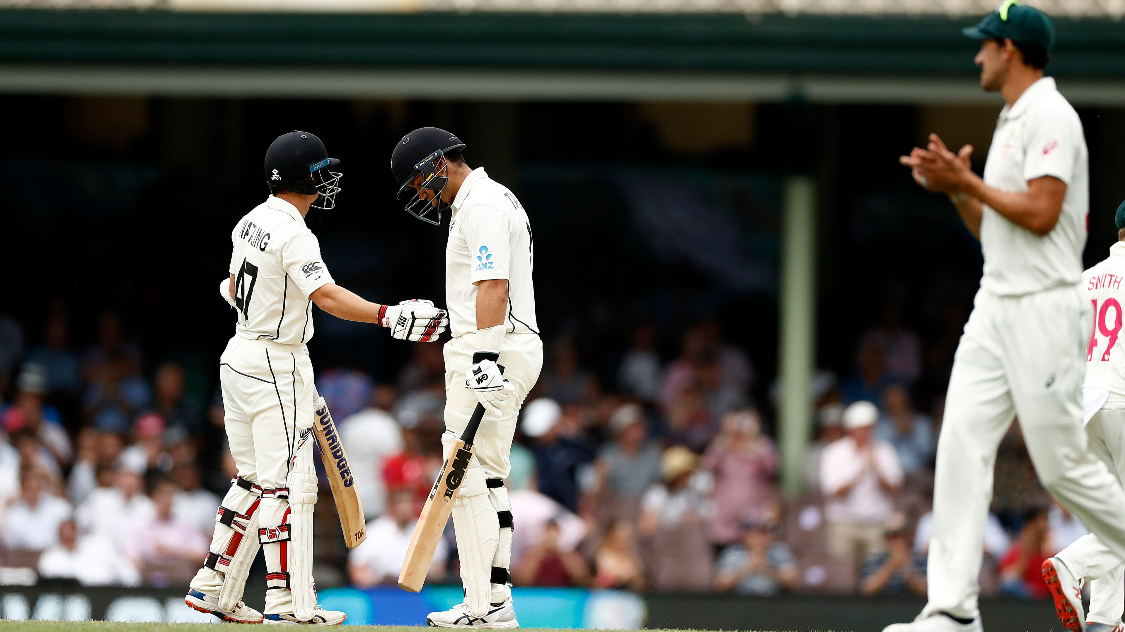 Ross Taylor tops Black Caps' run-scoring list then bowled by Pat Cummins peach