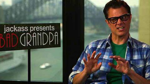 Watch:Bad Grandpa Johnny Knoxville shock foursome confession