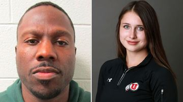 Lauren McCluskey (right) was gunned at the University of Utah after filing a police complaint against her ex-boyfriend Melvin Rowland (left).