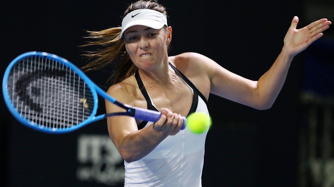 Maria Sharapova says ATP Cup has made WTA Brisbane International 'second-hand event'