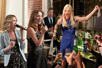 <b>In <i>Bridesmaids</i> and <i>What's Your Number?</i>...</b> An out-of-work, unlucky-in-love thirtysomething is overjoyed to be the maid of honour at her best friend's wedding (sister's wedding in <i>What's Your Number?</i>).<br><br/>Cue a series of embarrassing incidents as she struggles to plan the wedding and get her messy life back in order. She eventually does so, ditching her casual sex buddy (<i>buddies</i> in <i>Number</i>), for the guy who was right under her nose the whole movie.