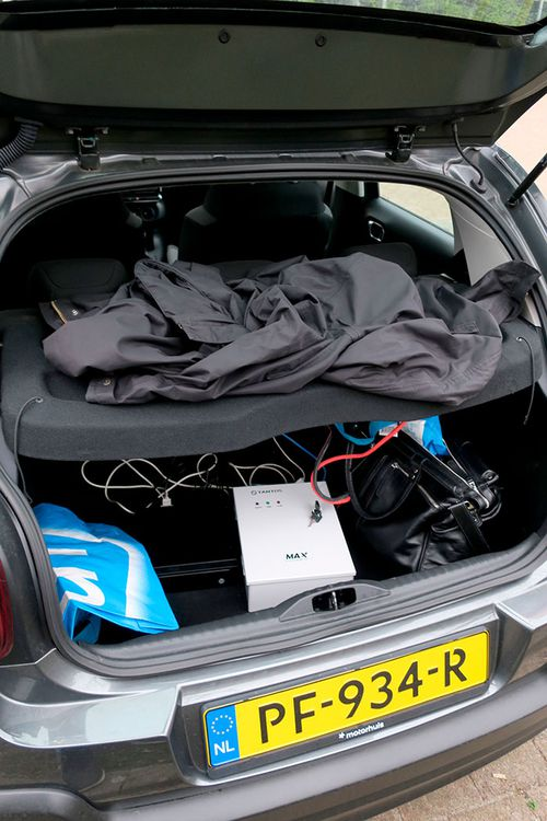 Hacking equipment found in the boot of the car parked beside the OPCW headquarters in The Netherlands.