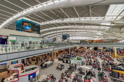 8. London Heathrow Airport, London, UK