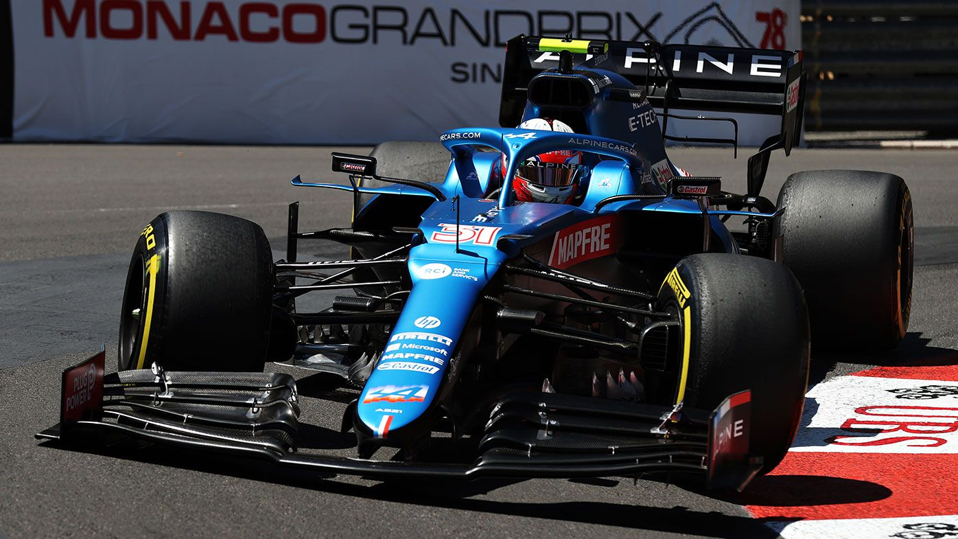 Esteban Ocon has re-signed for a further three years with Alpine.