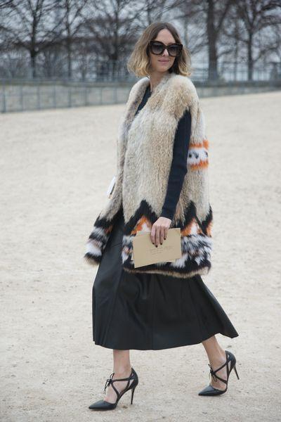 The (faux) fur vest
