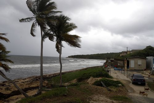 Puerto Rico's Government send a message of security to the population about the arrival of Hurricane Dorian.