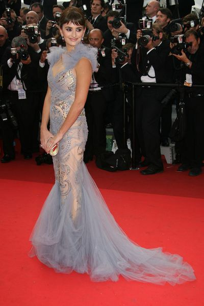 Penelope Cruz in Marchesa at the 2011 Cannes Film Festival<br /> <br /> <br />