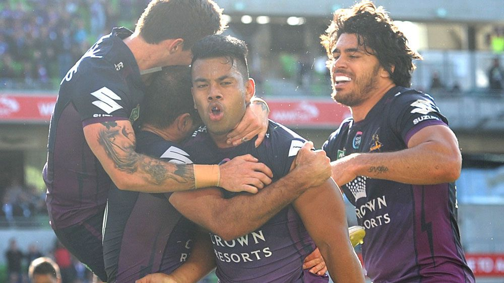 Storm leave it late to beat Knights