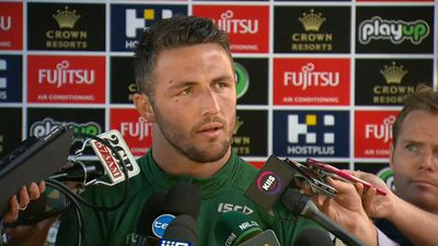 NRL star Sam Burgess and his wife Phoebe Burgess will skip the Dally M Awards in the wake of lewd sexting scandal