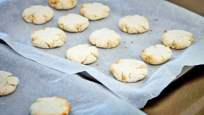 Banana coconut cookies