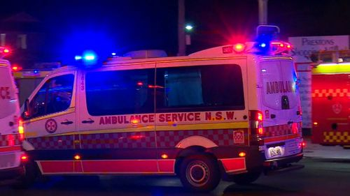 A 57-year-old woman was killed in the crash. (9NEWS)