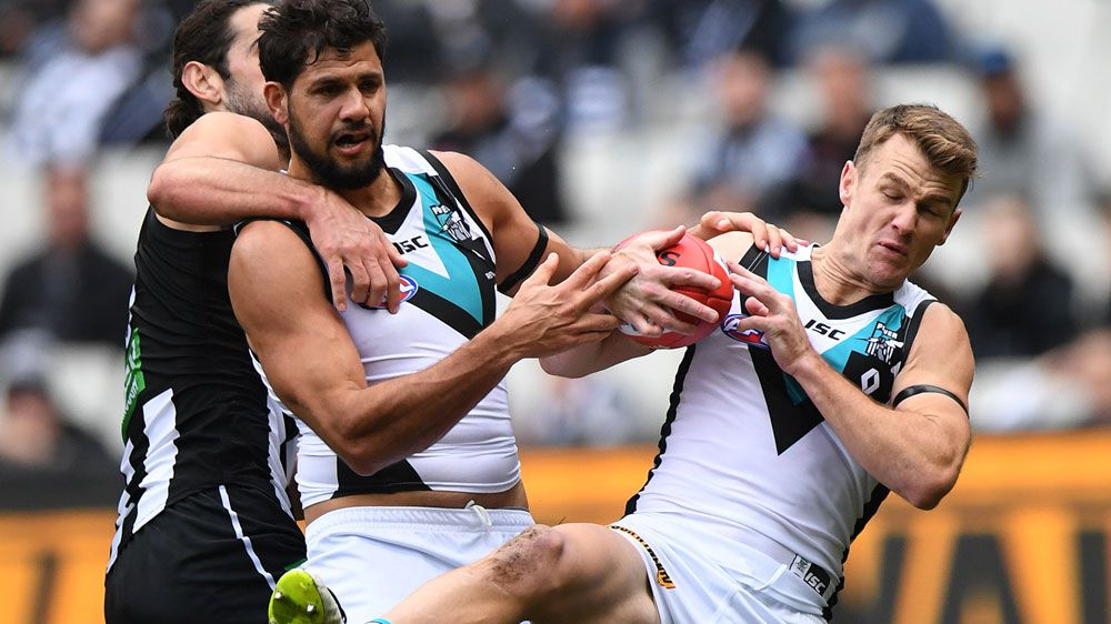 Gray stars as Power run over Pies in AFL