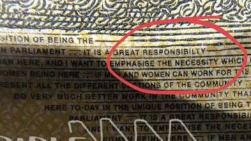 The embarrassing typo on 46 million new $50 notes
