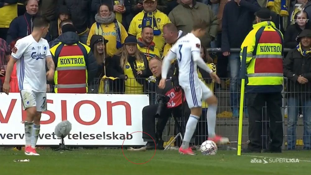 Copenhagen players pelted with dead rats by Brondby fans in Denmark's Superliga