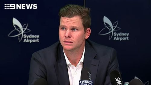 Steve Smith was left speechless by the comparison to 'Married at First Sight' participants Dean and Davina. (9NEWS)