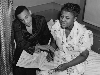 Ella Fitzgerald with Chick Webb