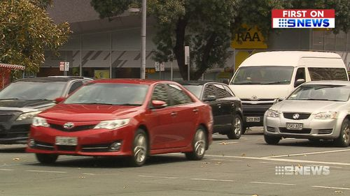 The sensors don't use video, but represent the path travelled by commuters with lines. (9NEWS)