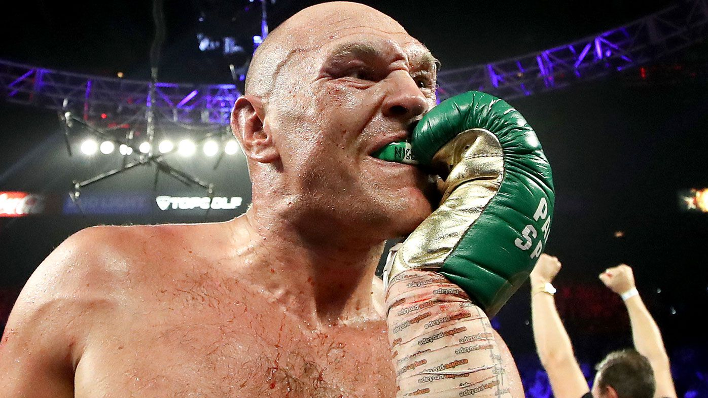 Hidden taunt revealed in Tyson Fury's mouthguard, Brit calls out next rival