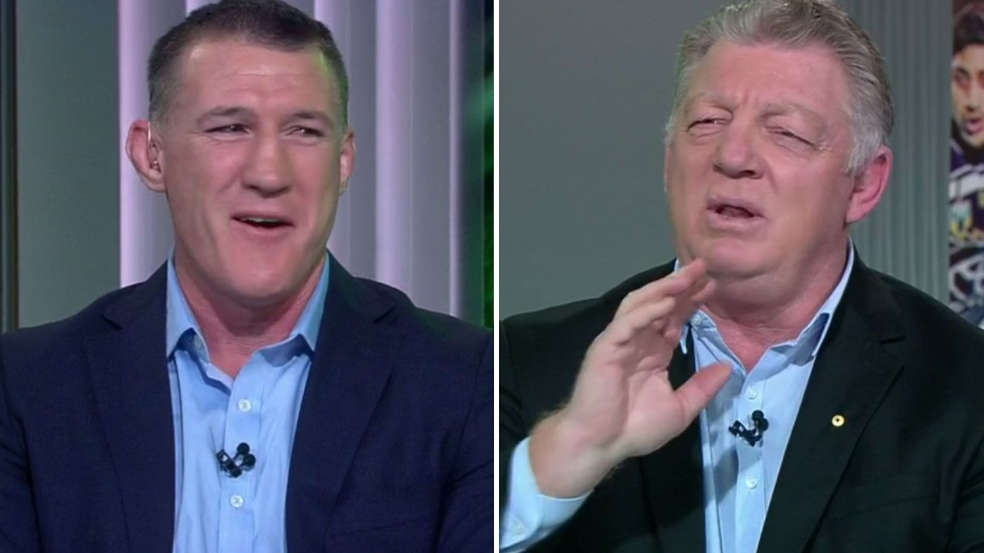 'You should be glad you didn't play in the 80's, Gal': Phil Gould, Paul Gallen go toe-to-toe over controversial no-try call