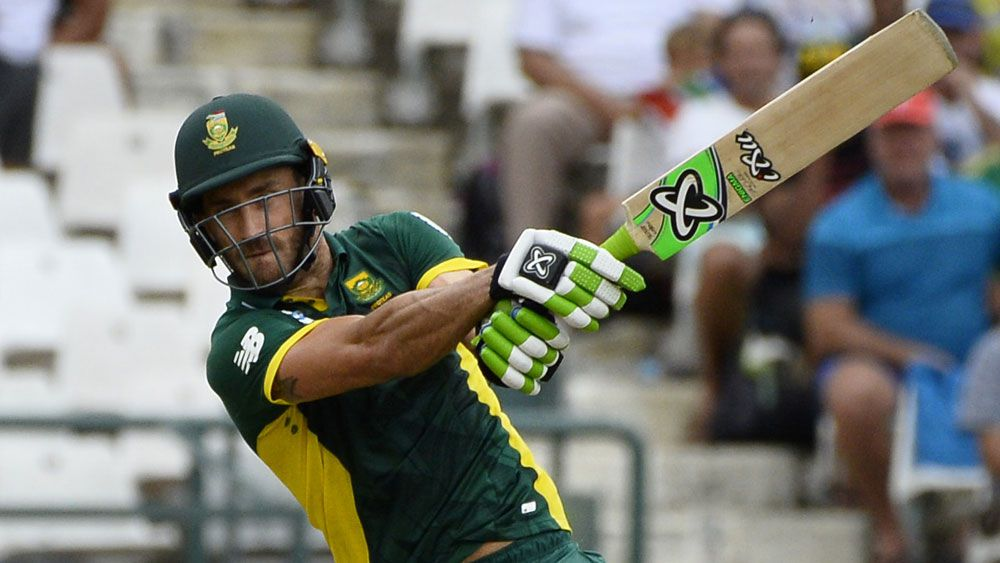 Du Plessis stars in Proteas victory