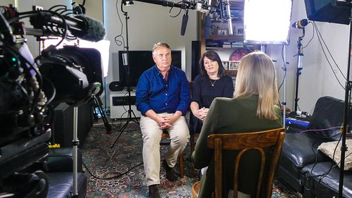 Ralph and Kathy Kelly speak with Allison Langdon. (60 Minutes)