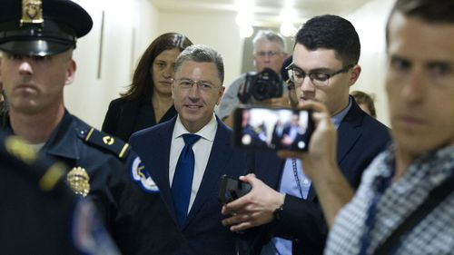 Kurt Volker resigned as special envoy to Ukraine last week.