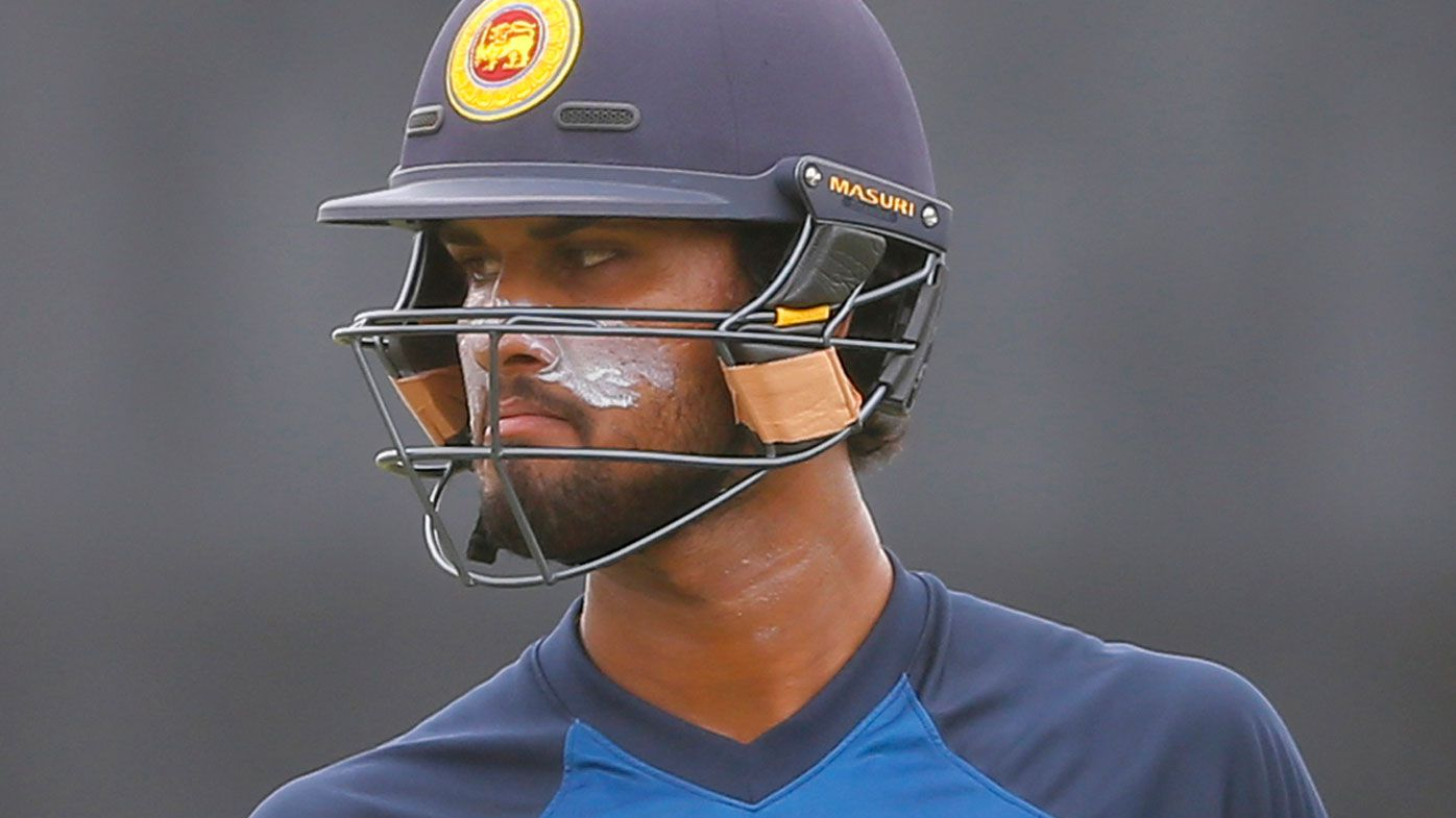 Sri Lankan captain Dinesh Chandimal charged with ball tampering by ICC