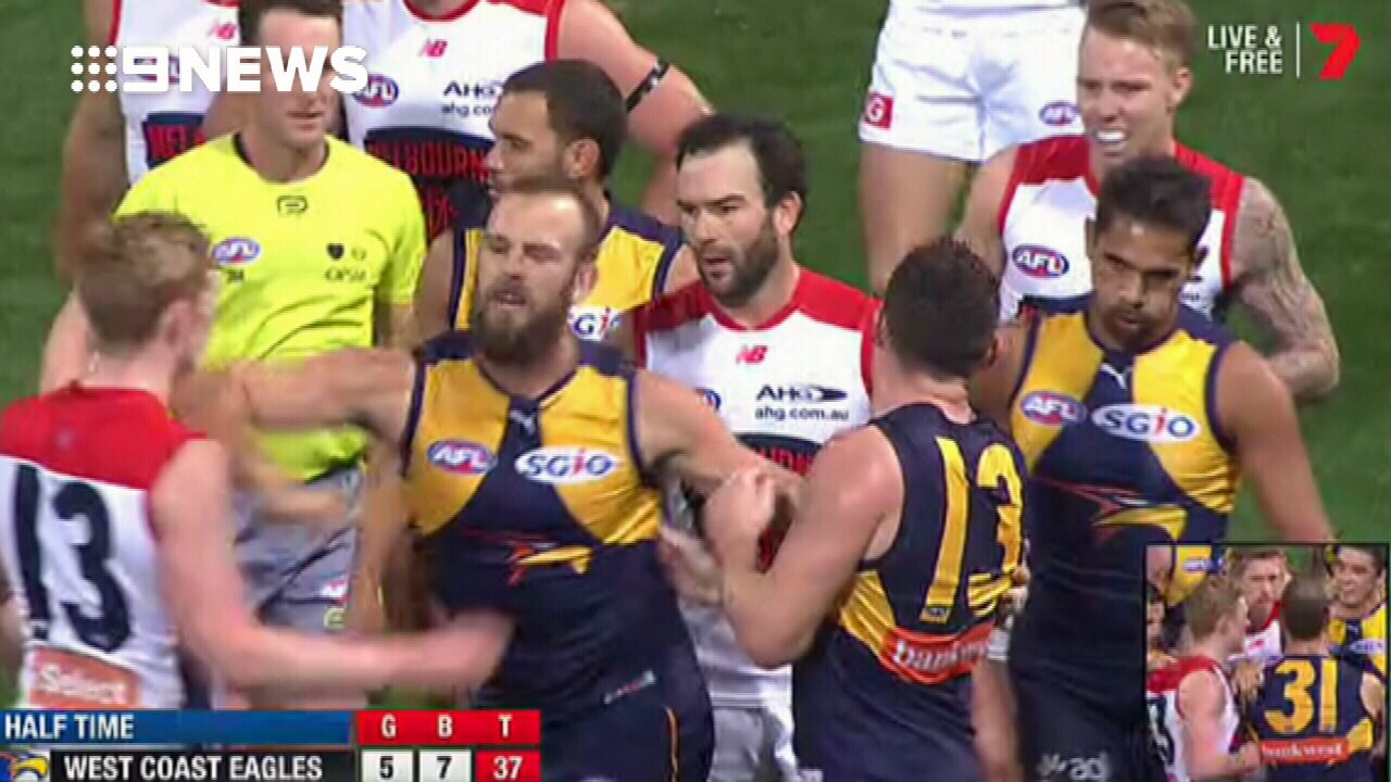 Schofield reported for glancing blow