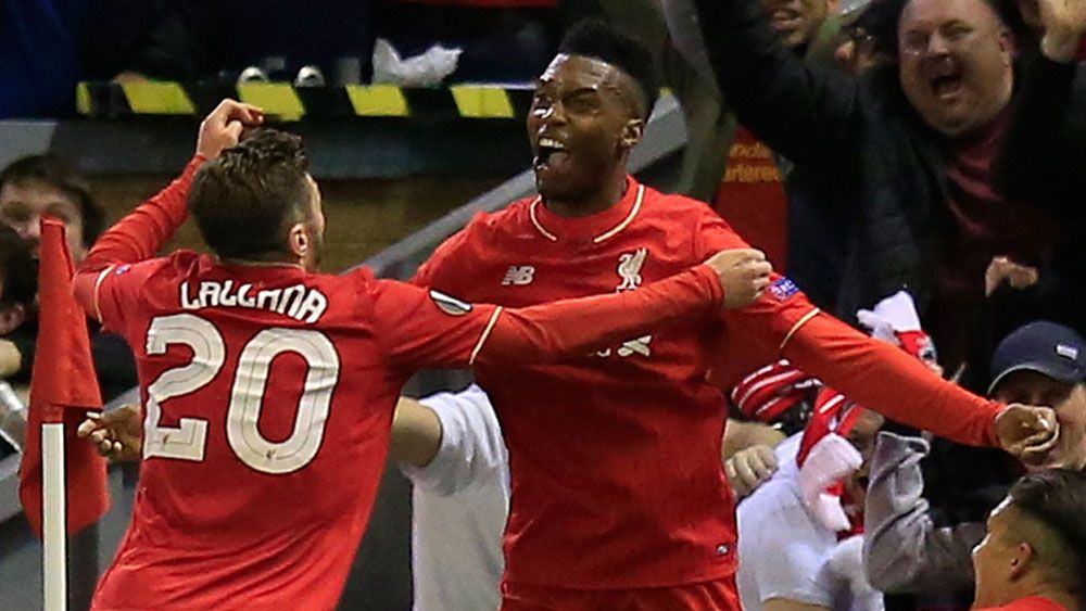 Football: Sturridge sends Liverpool into Europa League final