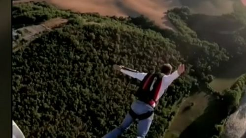 The professional base jumper was fined $660 for his illegal stunt in court today.
