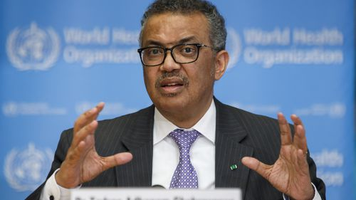 Tedros Adhanom Ghebreyesus, Director General of the World Health Organisation has demanded nations work together to defeat the coronavirus pandemic.