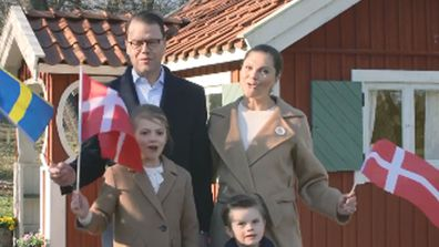 European royals in video message for Queen Margrethe - Crown Princess Victoria of Sweden