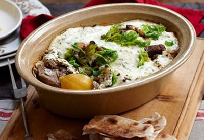 "Recipe: <a href=""/recipes/ilamb/8348699/baked-greek-lamb-stew"" target=""_blank"">Baked Greek lamb stew</a>"