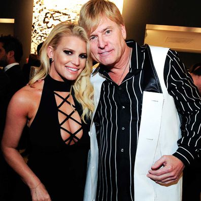 Jessica Simpson and Joe Simpson.