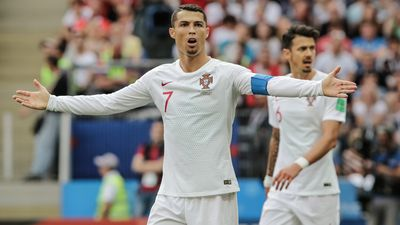 GALLERY: Ronaldo header sees Morocco say goodbye to World Cup